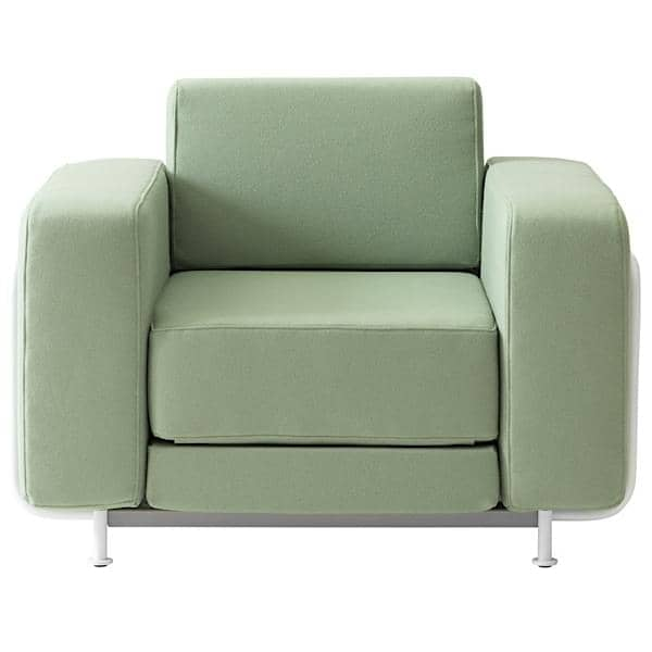Silver A Convertible Armchair Softline