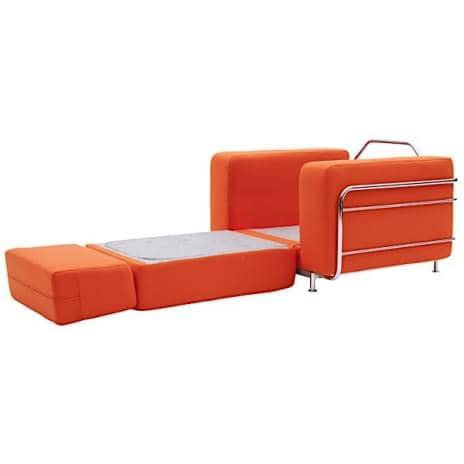 Silver fauteuil convertible en lit 1 place softline - Fauteuil convertible lit 1 place ...