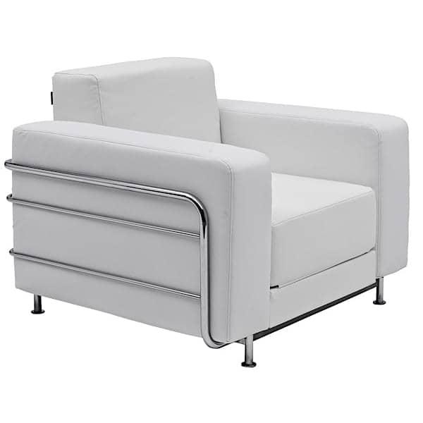 Convertible Armchair: SILVER, A Convertible Armchair, SOFTLINE