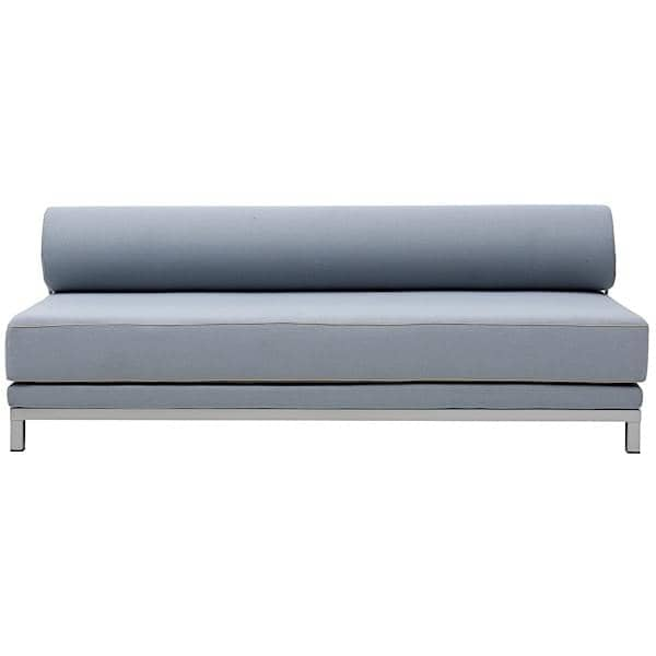 sleep convertible sofa bed in seconds for 2 people by softline