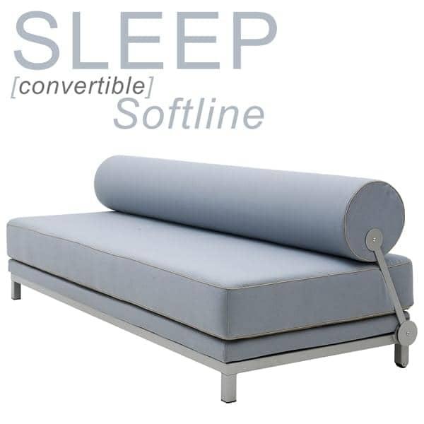 SLEEP, מיטת ספה נפתחת בשניות, עבור 2 אנשים. על ידי SOFTLINE