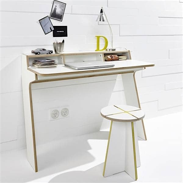 slope consola de escritorio leonard pfeifer. Black Bedroom Furniture Sets. Home Design Ideas