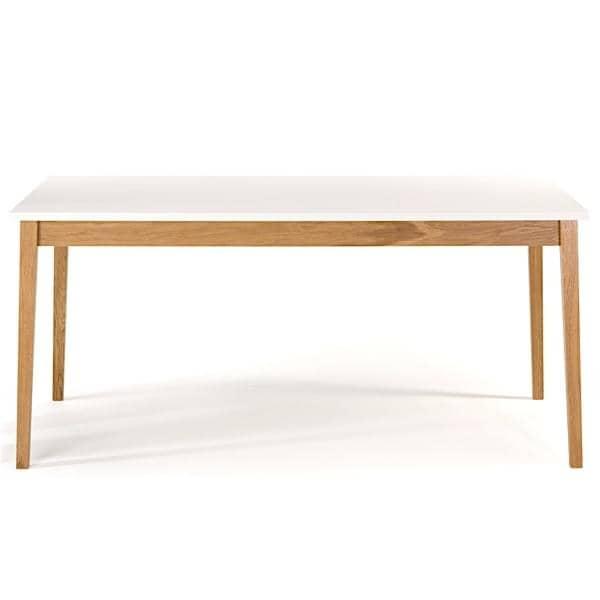 Mesa de comedor blanco leonhard pfeifer for Mesas de comedor madera blanca