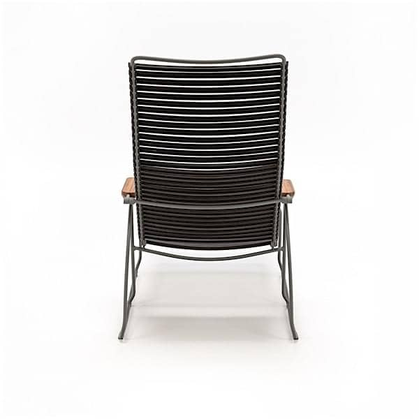 Sun Lounge Chair, CLICK SYSTEM, Resin And Steel, Outdoor, ...