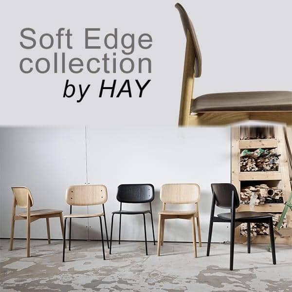 SOFT EDGE Stapelbarer Stuhl Aus Holz Oder Metall Holz, HAY ...