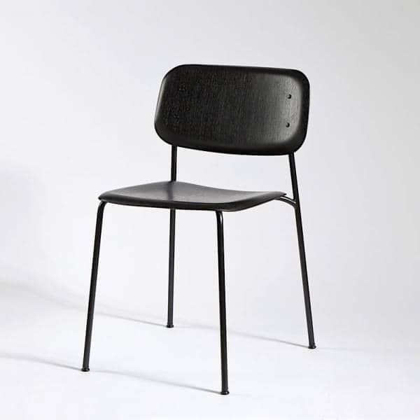 ... HAY SOFT EDGE Stapelbarer Stuhl Aus Holz Oder Metall Holz, ...