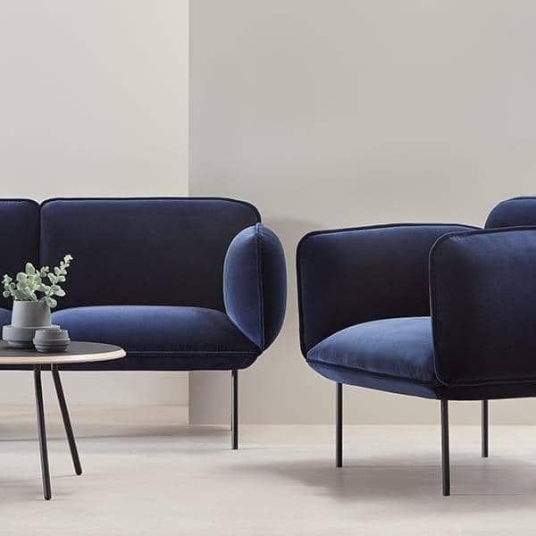 ספה NAKKI 2 מושבים, נוחות ומודרניות. WOUD.