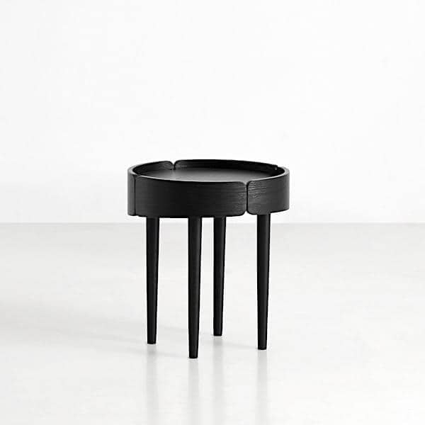 skirt coffee table in wood finnish design a beautiful use of the materials woud. Black Bedroom Furniture Sets. Home Design Ideas