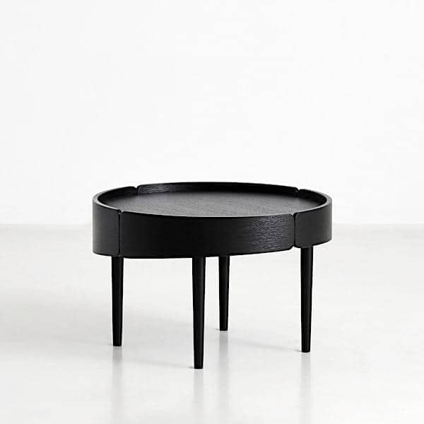 table basse skirt en bois woud. Black Bedroom Furniture Sets. Home Design Ideas
