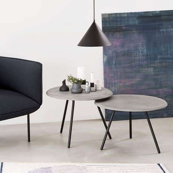 SOROUND שולחן צדדי, עיצוב סקנדינבי אלגנטי. WOUD.