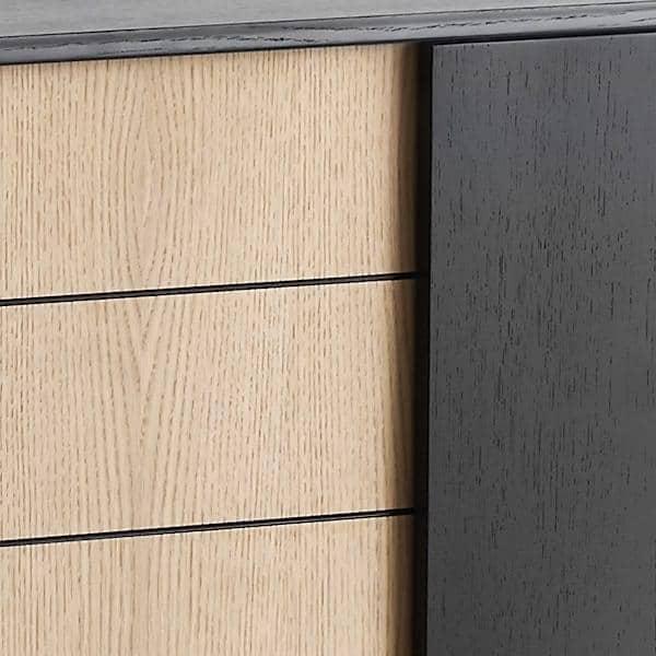 virka sideboard holz und metall woud. Black Bedroom Furniture Sets. Home Design Ideas