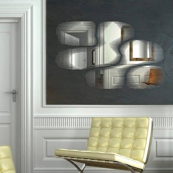 miroir d coratif bulles snap mirror robba edition. Black Bedroom Furniture Sets. Home Design Ideas