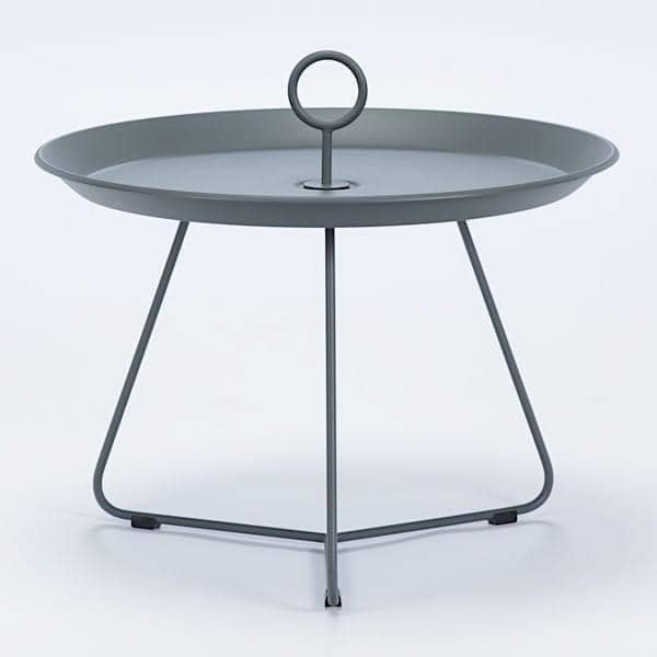Eyelet Side Tables Epoxy Lacquered Steel Houe
