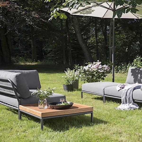 de jardin LEVEL à composer, de haute qualité, canapé, pouf et ...