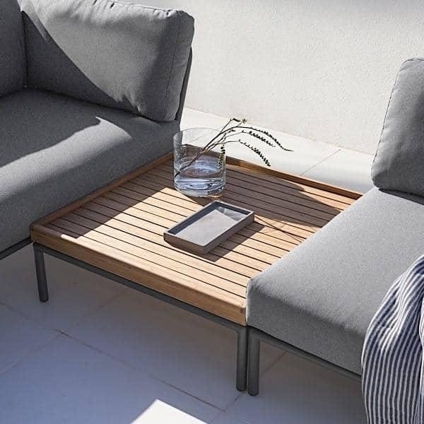 Contemporáneo Otomana Utilizar Como Muebles Mesa De Café Foto ...