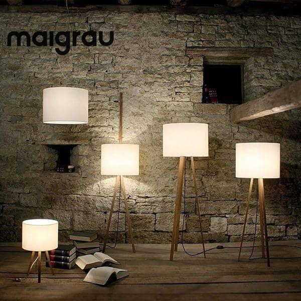 LUCA LEAN, leanning lampe, MAIGRAU