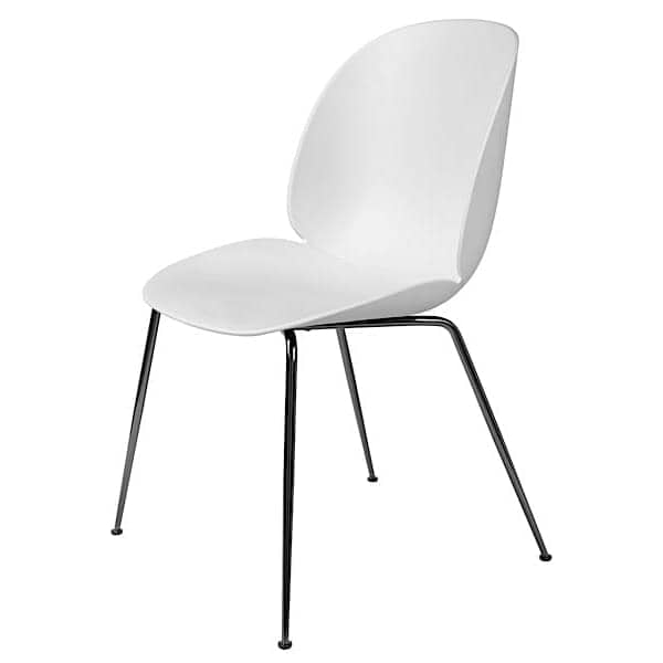 BEETLE Stuhl, Polypropylenschale und Metallgestell. GUBI