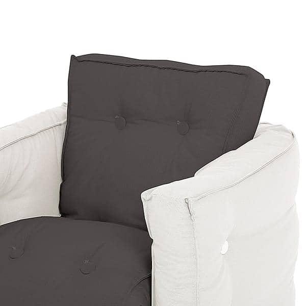 Little LOFTY, Fauteuil futon convertible en lit une ou deux place, pour enfants : doux, pratique, et confortable