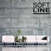 ELLE, en sofa full av rundhet og femininitet