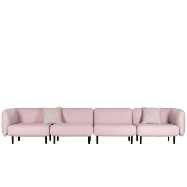 ELLE, un divano pieno di rotondità e femminilità