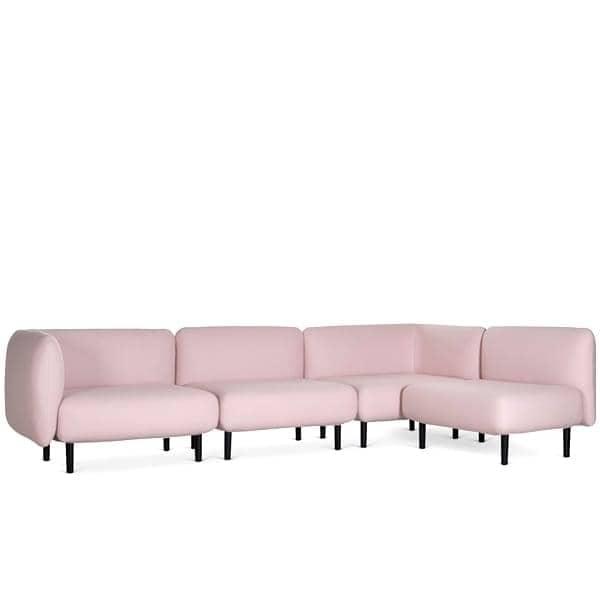 ELLE, un sofá lleno de redondez y feminidad