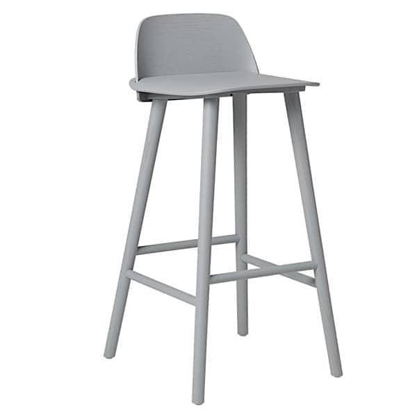 NERD barstol, den perfekte kombinasjonen av komfort og skandinavisk design. Muuto