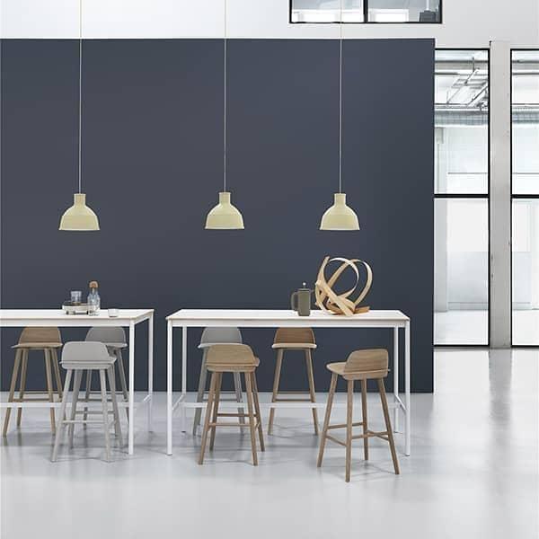 Tabouret NERD, l'association parfaite du confort et de l'esthétique scandinave. Muuto