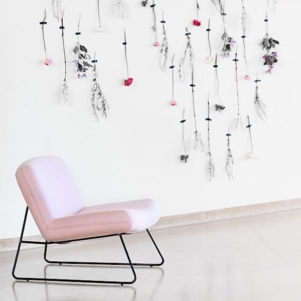 JAVA, en slank lounge stol, med stor komfort. SOFTLINE