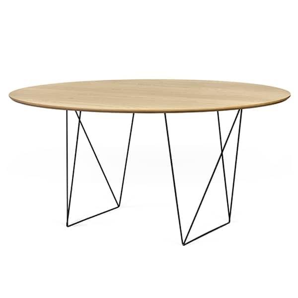 Mesas redondas de comedor ROW, elegantes y modernas. TEMAHOME ROW ...
