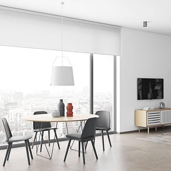 Mesas redondas de comedor ROW, elegantes y modernas. TEMAHOME