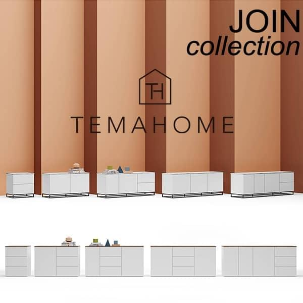 Design and elegant sideboards, JOIN collection, signed TEMAHOME.