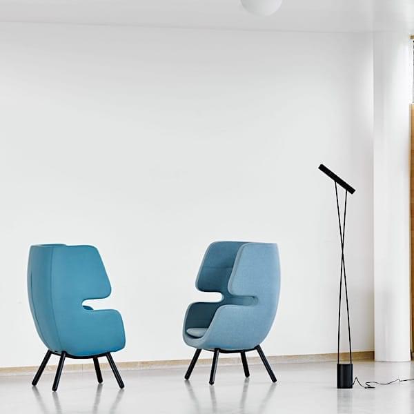 MOAI, un sillón lounge que actúa como un refugio encantador para sus momentos de relajación.