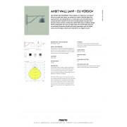 Ambit Wall Lamp EU PFS