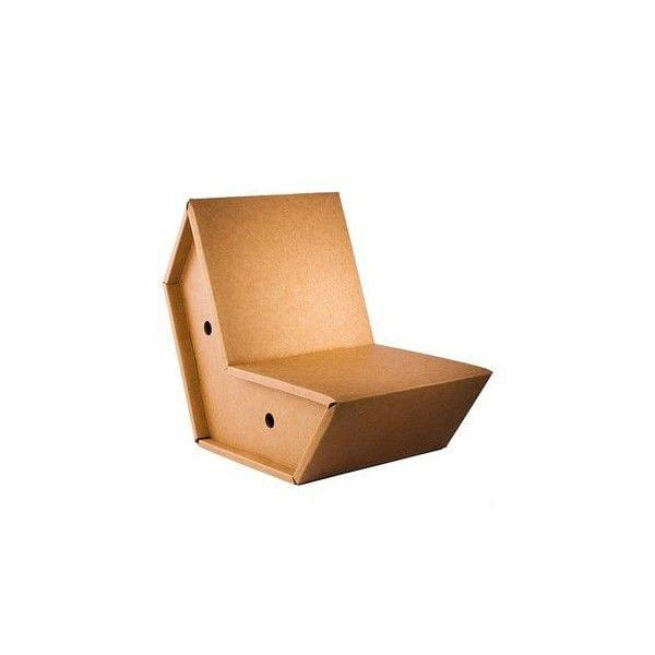 fauteuil otto fauteuil en carton ultra r sistant pulpo. Black Bedroom Furniture Sets. Home Design Ideas