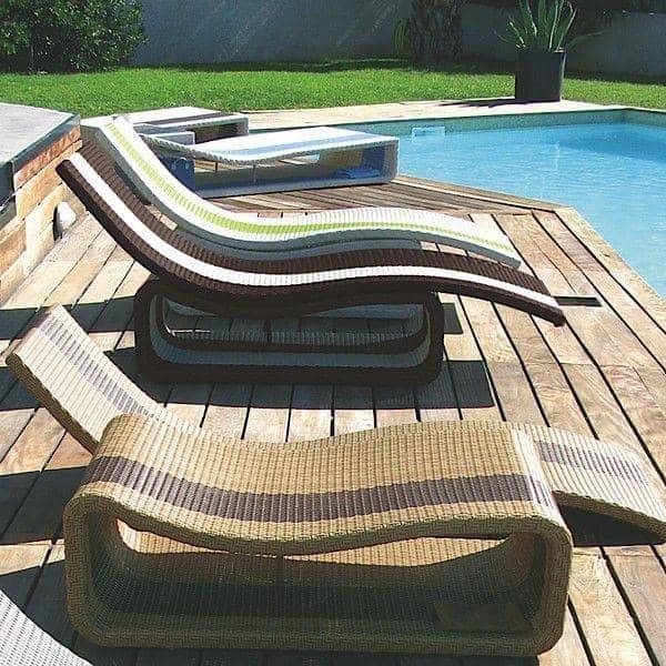 Sol liegestuhl oder um mehrzwecktisch h misph re for Design liegestuhl