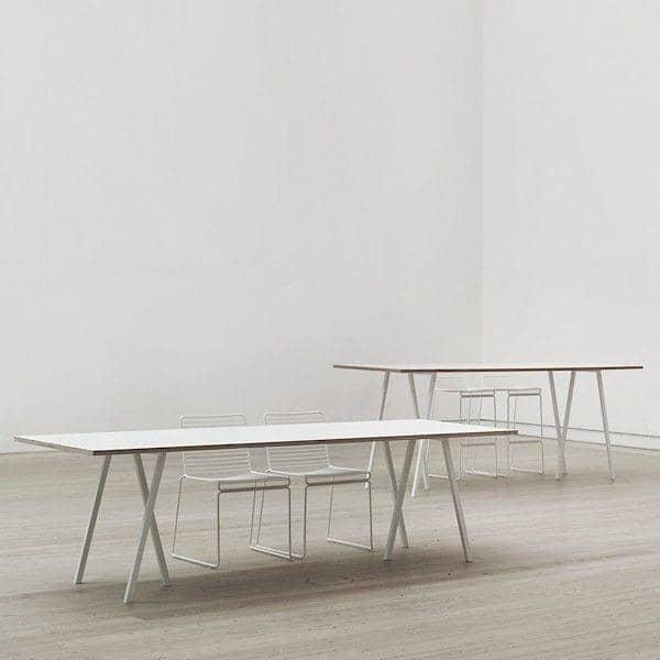 A LOOP mesa de jantar por HAY é bonito, fácil de viver e acessível - deco e design