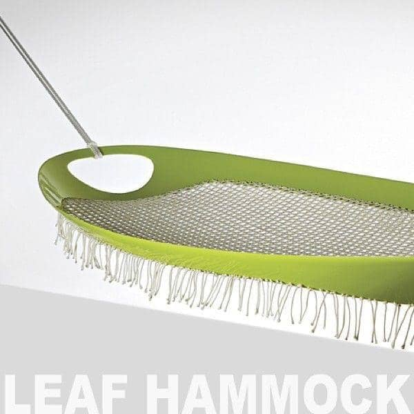 Hamac LEAF HAMMOCK GAEAforms - ligne contemporaine et résistance extrême