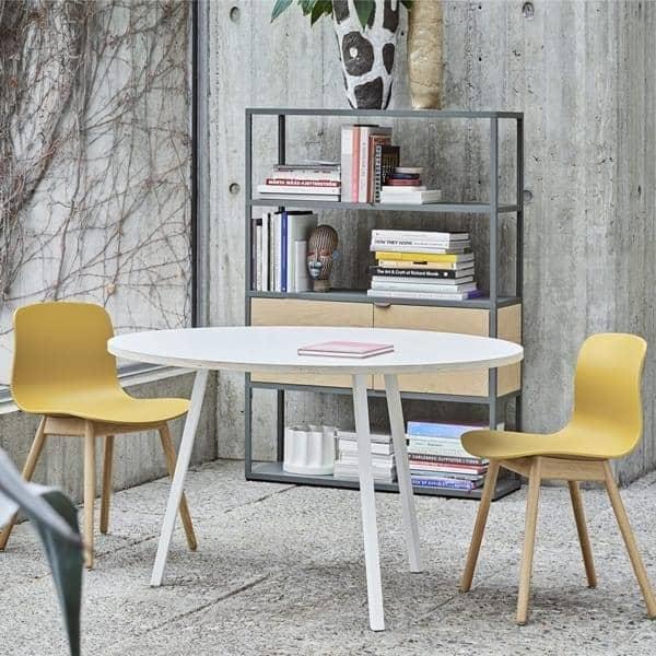 La ronda LOOP mesa de comedor o mesa alta, es hermoso, fácil y asequible  para vivir - deco y diseño