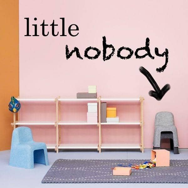 La Chaise LITTLE NOBODY par HAY est la version ENFANT de la NOBODY