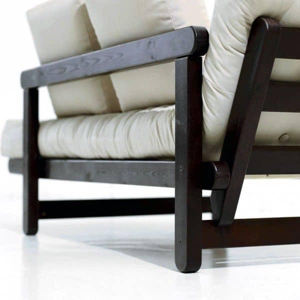 BEAT è un divano letto a due posti che può essere trasformato in letto o chaise longue, entrambi i lati del divano - deco e del design