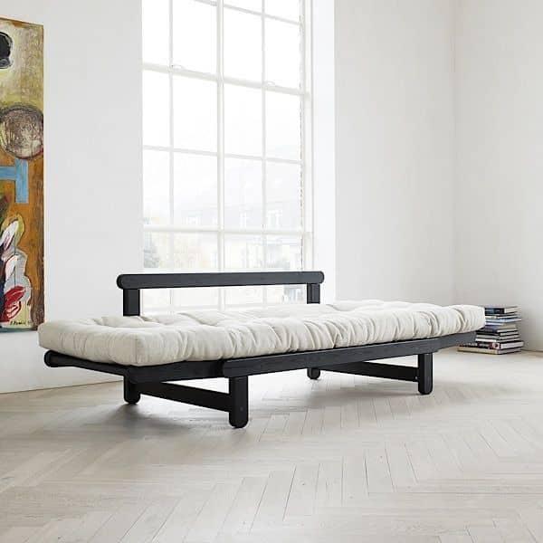 beat zweisitzer schlafsofa im bett oder chaiselongue nordic nordic design. Black Bedroom Furniture Sets. Home Design Ideas
