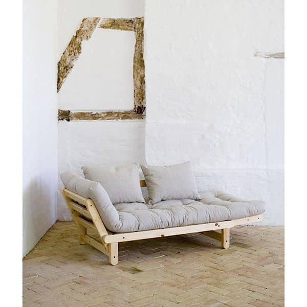 BEAT er en to personers sovesofa, som kan omdannes i sengen eller chaiselong, hver side af sofaen - deco og design