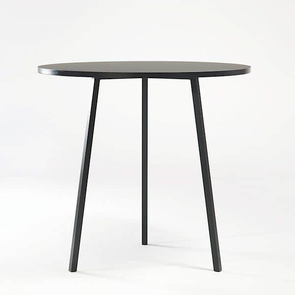 Il LOOP stand tavolo da pranzo rotondo è bello, facile da vivere e conveniente, HAY - deco e del design