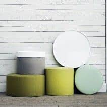 DRUMS is a functional pouf and side table - deco and design, SOFTLINE