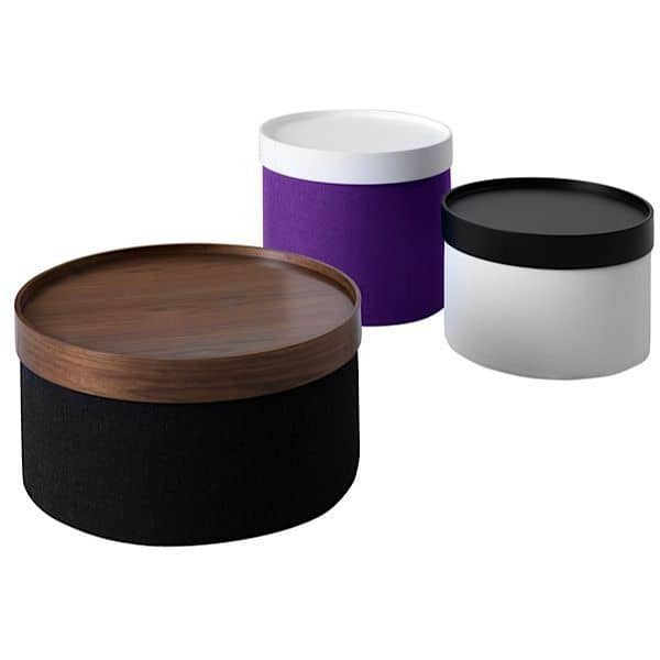 Drums Is A Functional Pouf And Side Table Softline