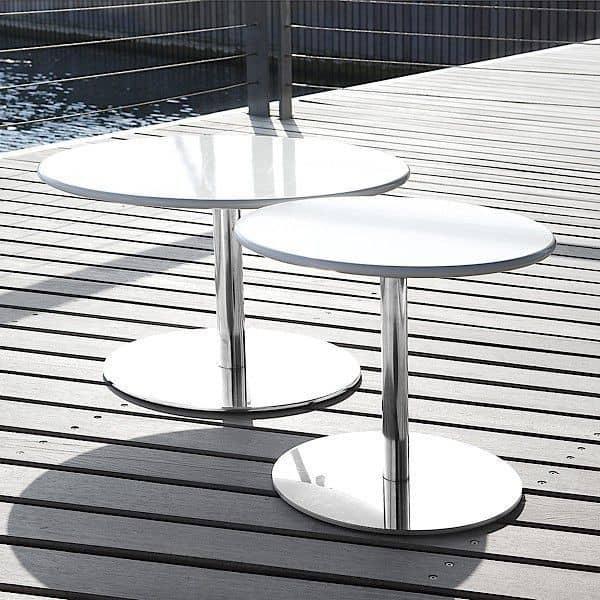 HELLO è un tavolino pratico o tavolino - deco e del design, SOFTLINE
