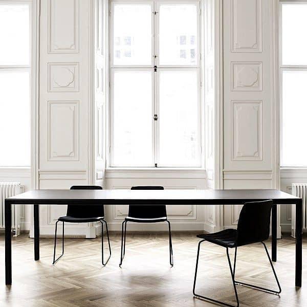 Der T12 Esstisch oder Schreibtisch von HAY. Nordic-Design, so perfekt!