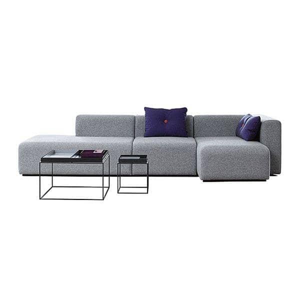 MAGS沙发,模块组合,织物和皮革, HAY