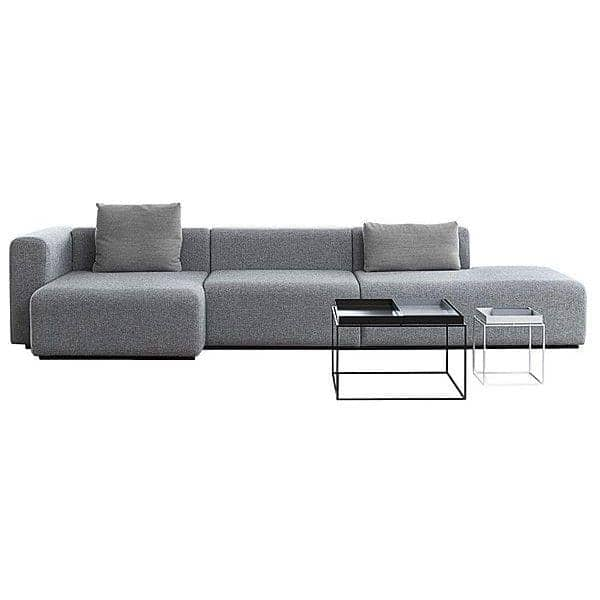 Sofa MAGS en tissu ou en cuir, les combinaisons modulables