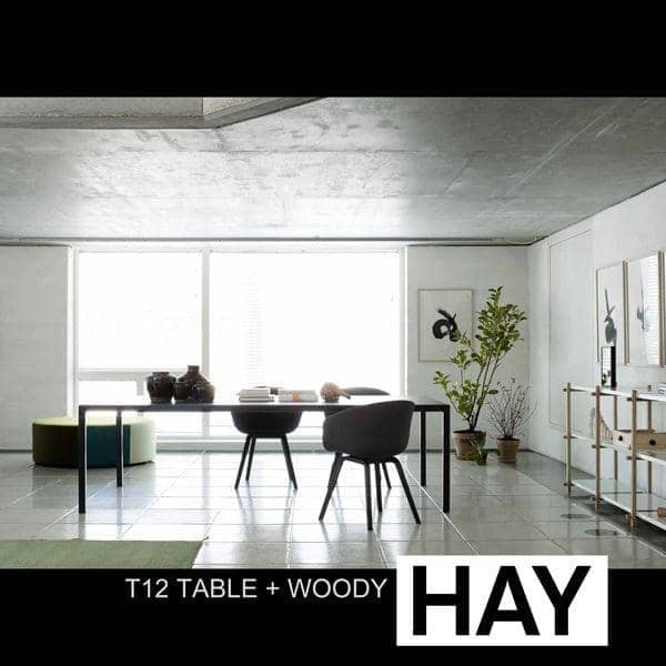 WOODY Shelving System skapt i modernismensånd, HAY